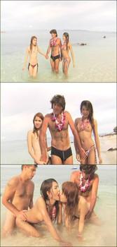 ExtremeLadyboys - Love Island - Candy, Alisa, Bella